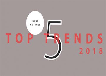 5 Top Trends In 2018